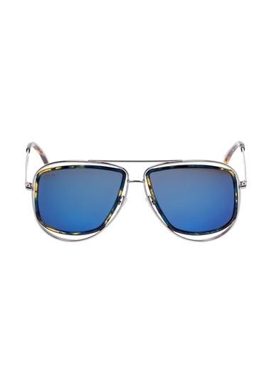 Emilio Pucci  Ep 0003 89X 58 Kadın Güneş Gözlüğü Siyah